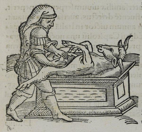 Conrad Lycosthenes: Prodigiorum ac ostentorum chronicon, 1557.