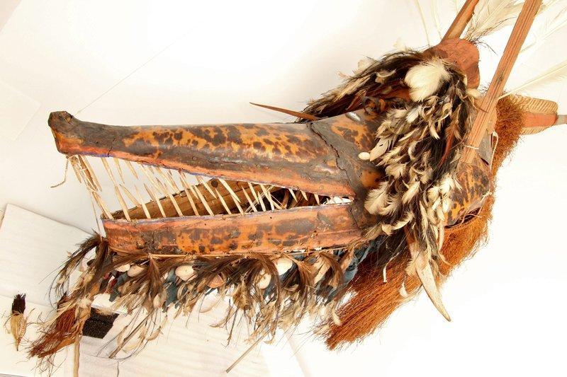 Crocodile mask E017339 #1