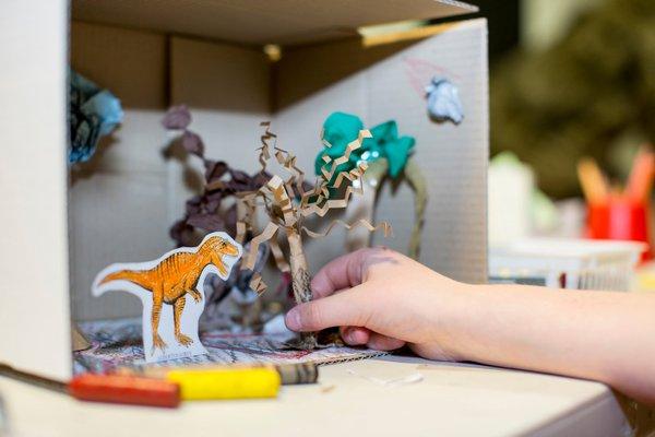 Dino-rama craft