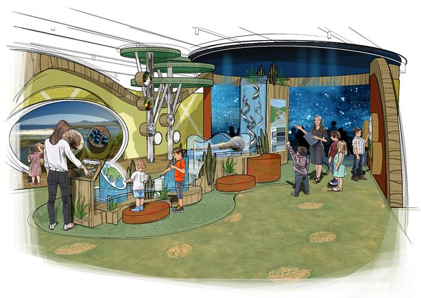 Artist's impression of the Discovery Centre