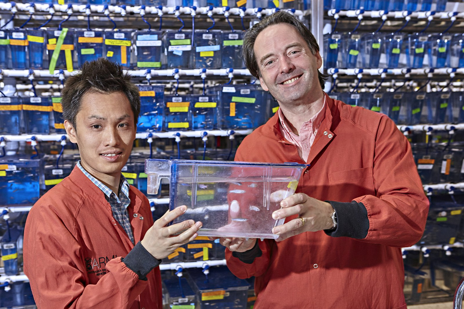 Phong Nguyen and Professor Peter Currie