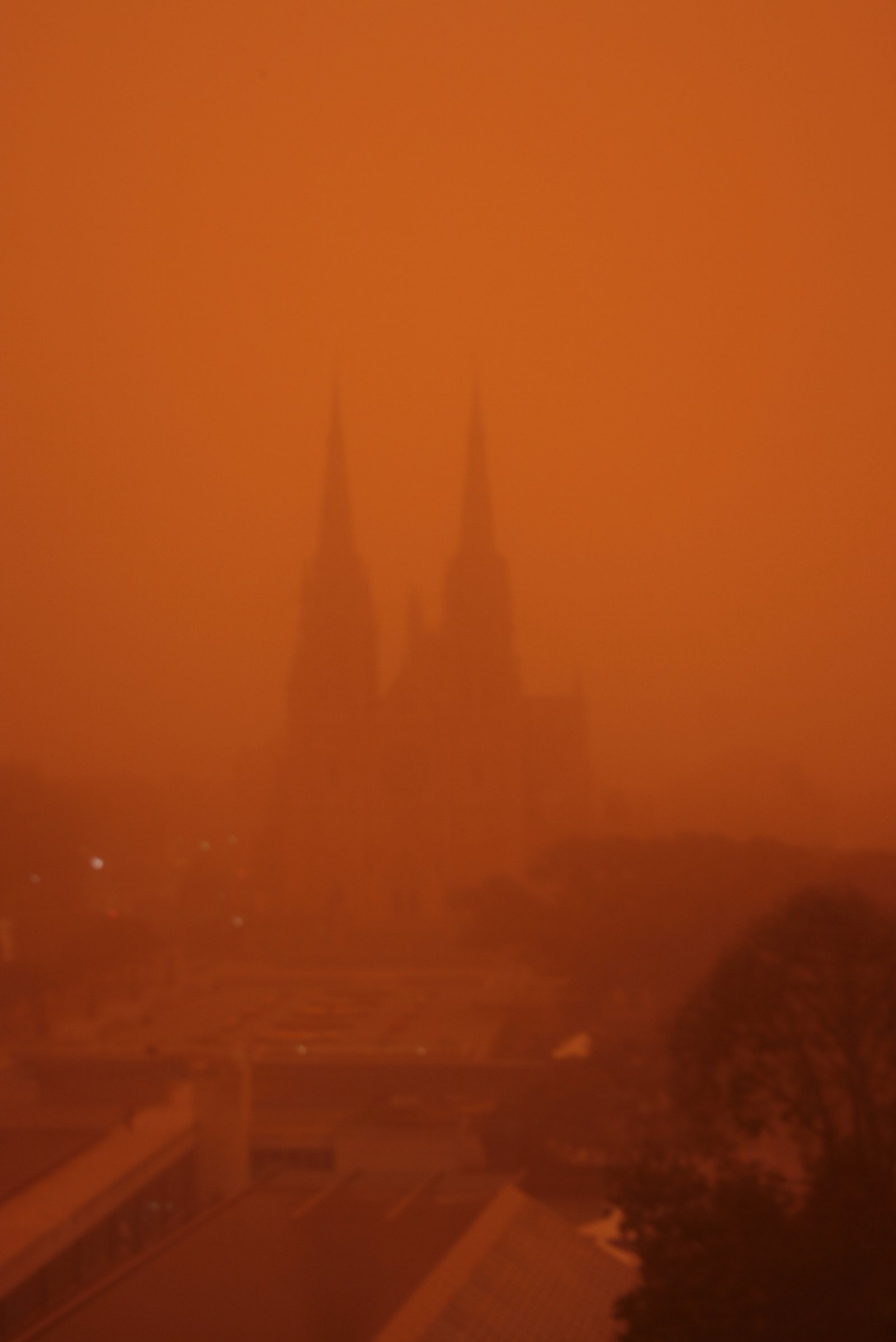 Dust storm Sydney 23 September 2009
