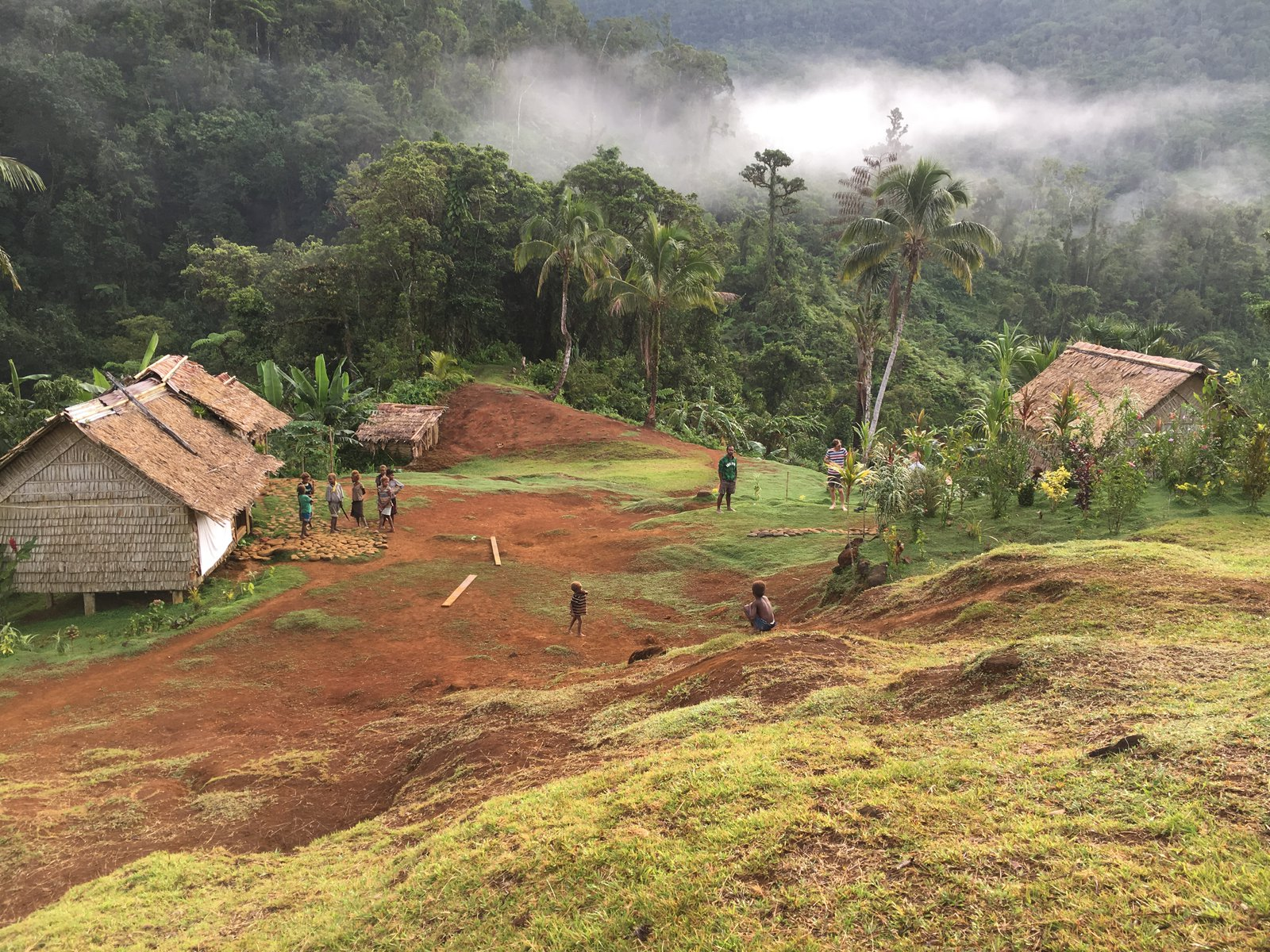Dwellings in Malaita.