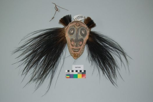 Mask from the lower Sepik River