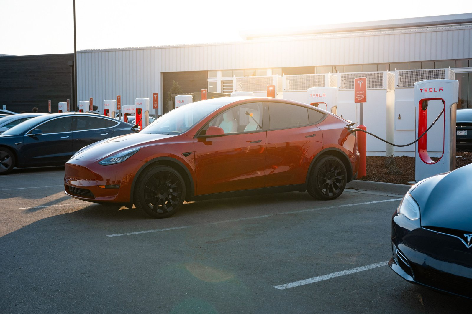 Telsa electric cars