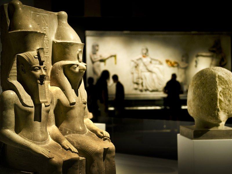 Egyptian Art Treasures of The Pharaohs
