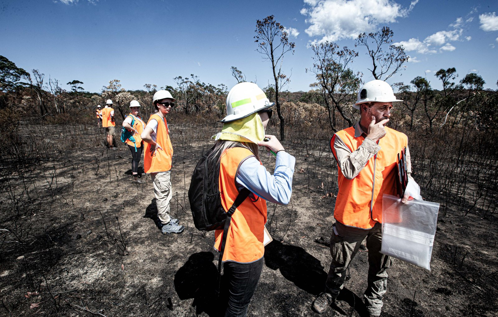 NSW Bushfire Hub - Finalists, 2021 NSW Environment, Energy and Science (DPIE) Eureka Prize for Applied Environmental Research