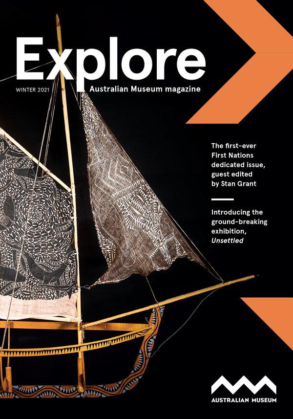 Cover of Explore – Winter 2021