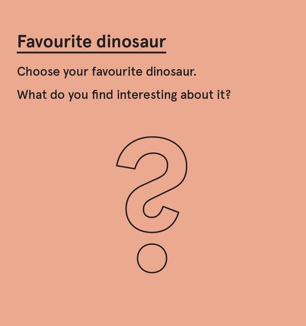 ED_Dino_P - Favourite dinosaur