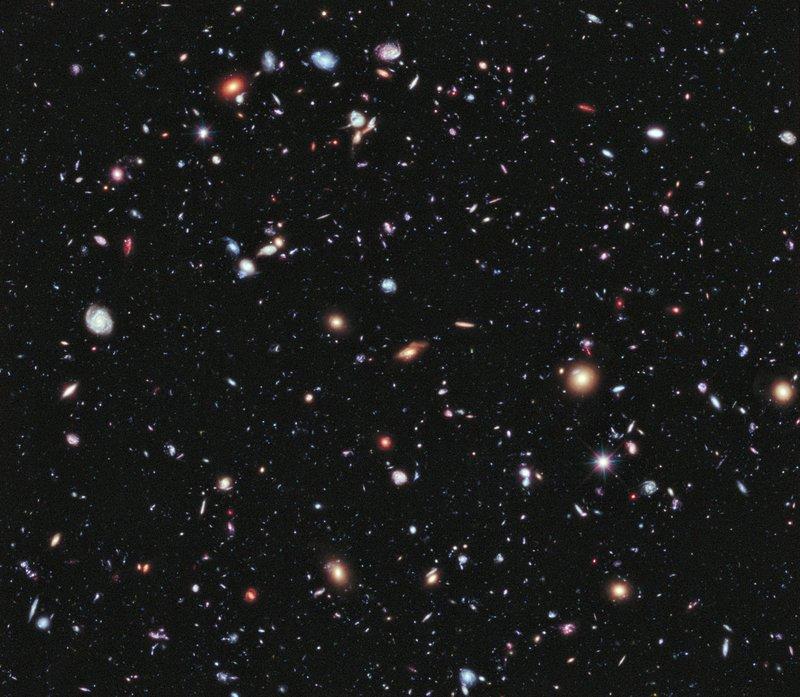 Hubble composite 2012