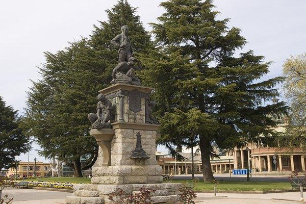The Evans Memorial