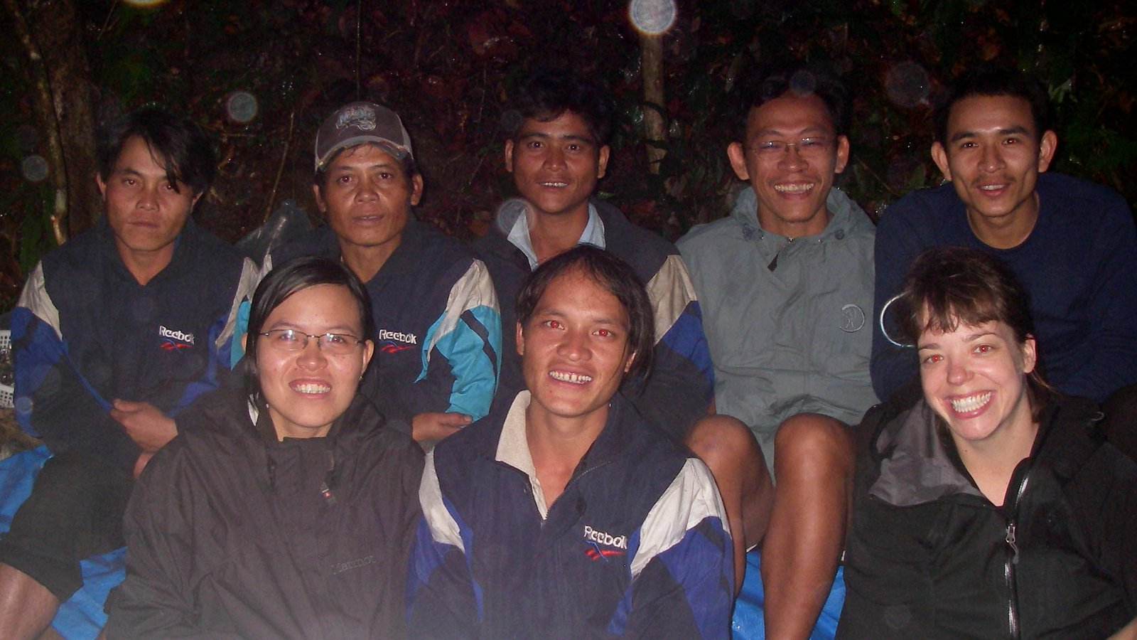 Survey team, central Vietnam.