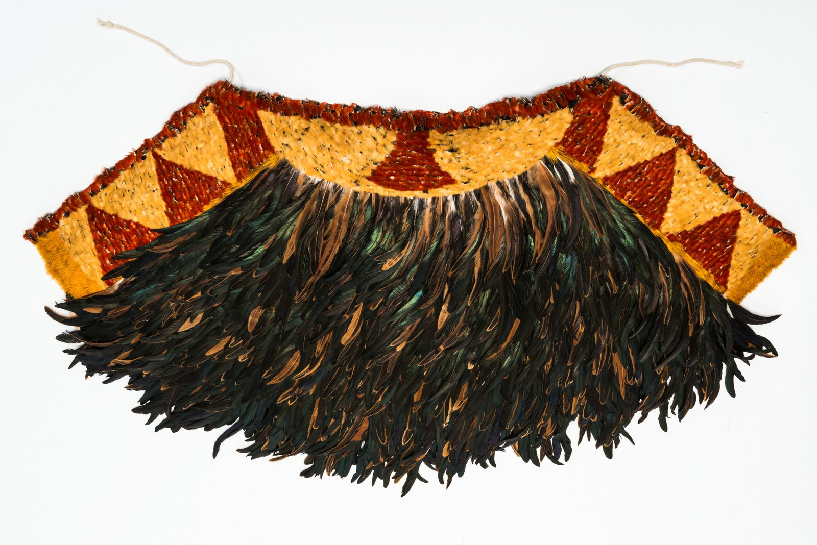 Hawaiian feather cape