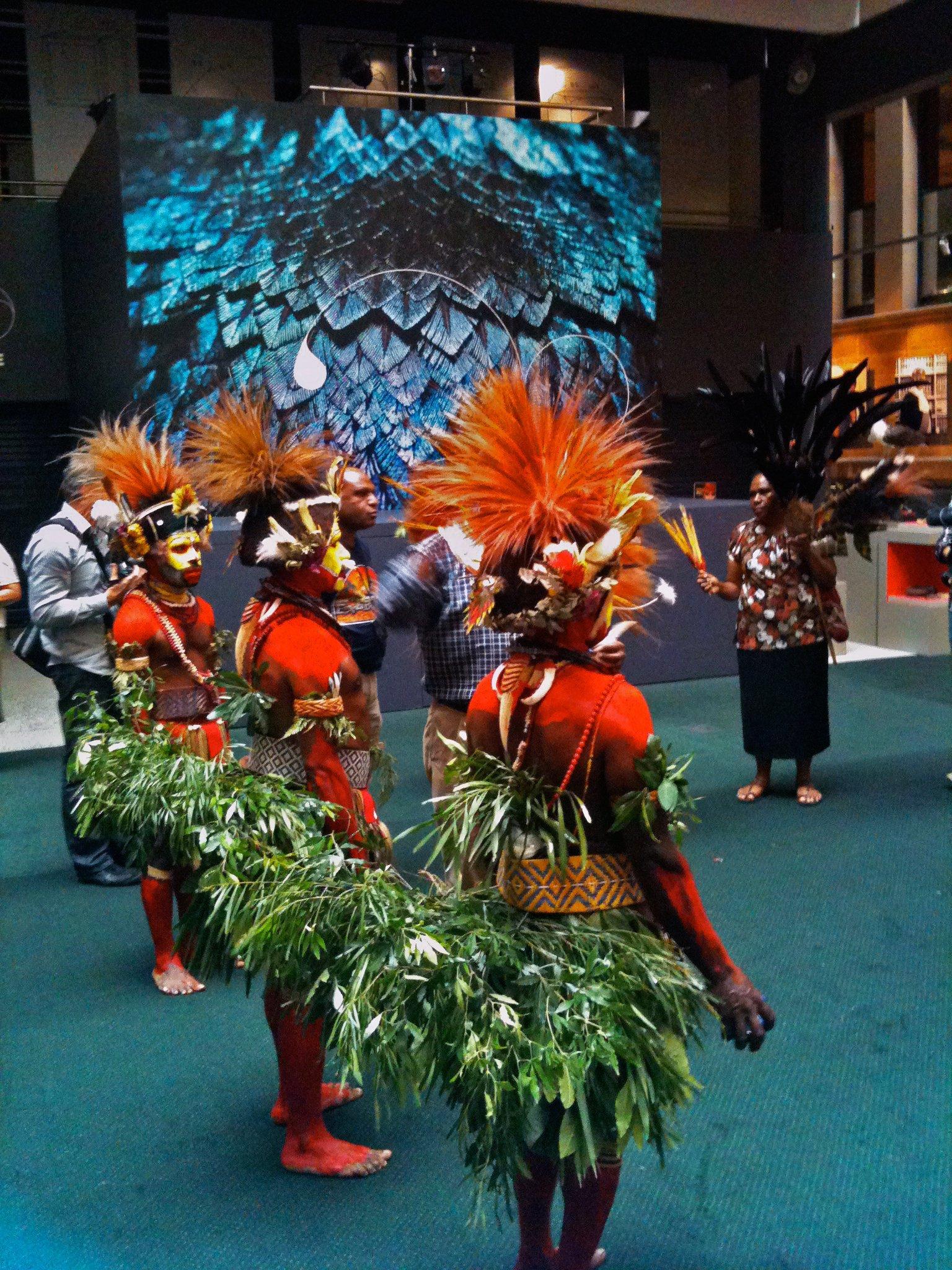 Huli Dancers