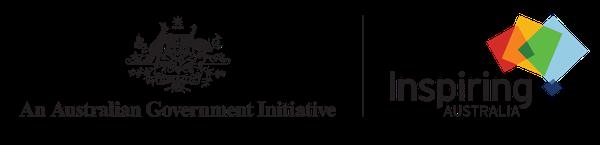 Inspiring Australia RBG logo