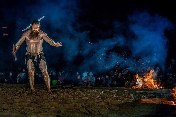 Aboriginal cultural practitioners Milan Dhiiyaan