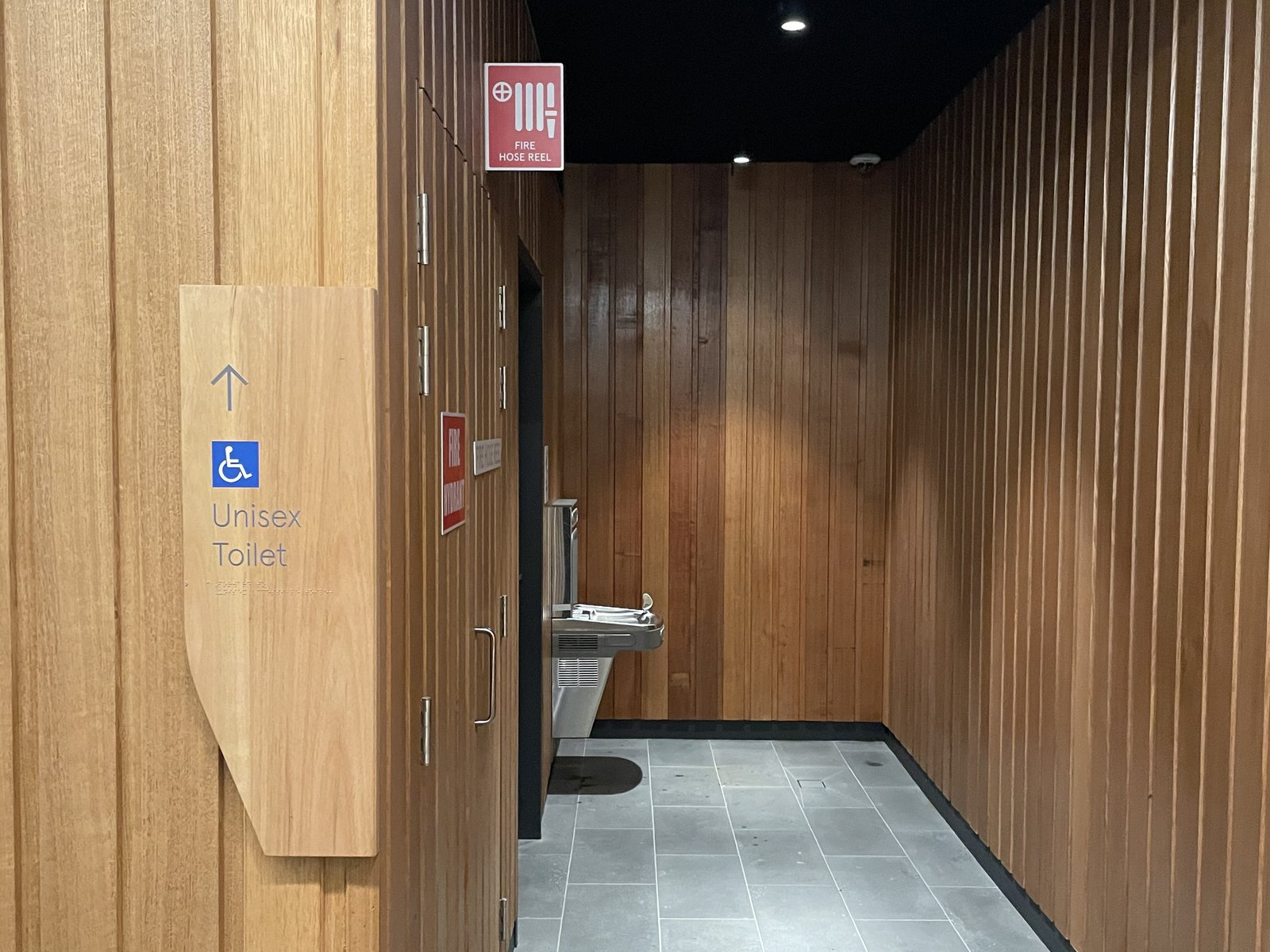 AM accessible toilets