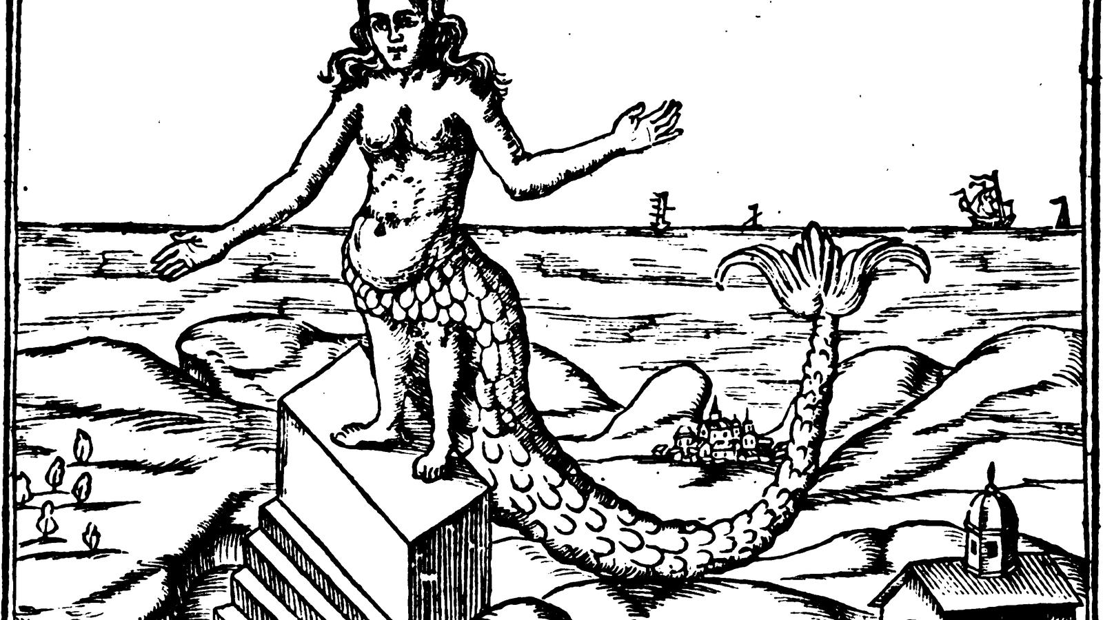 Derceto, from Athanasius Kircher, Oedipus Aegyptiacus, 1652.