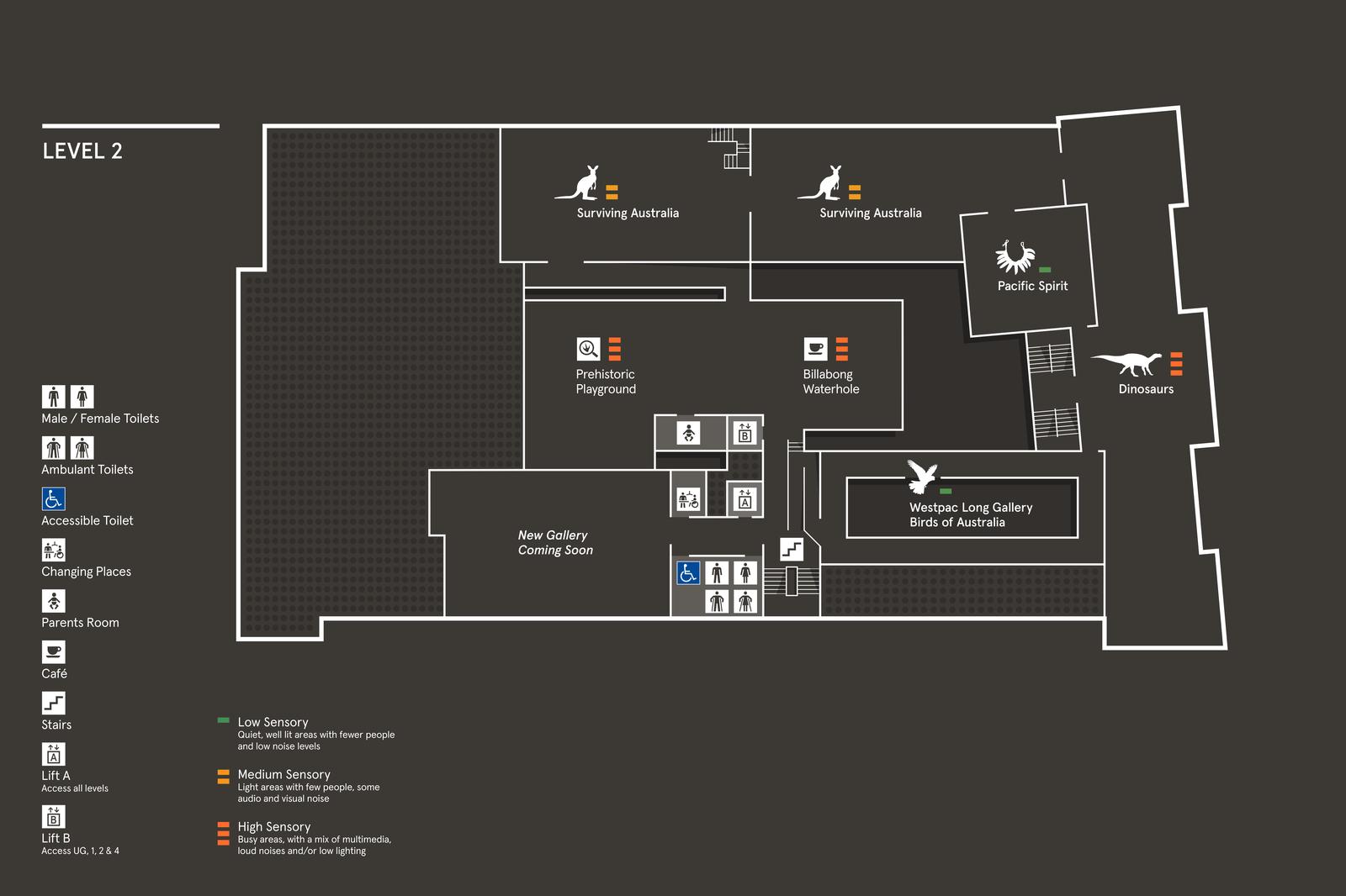 AM Map - Level 2