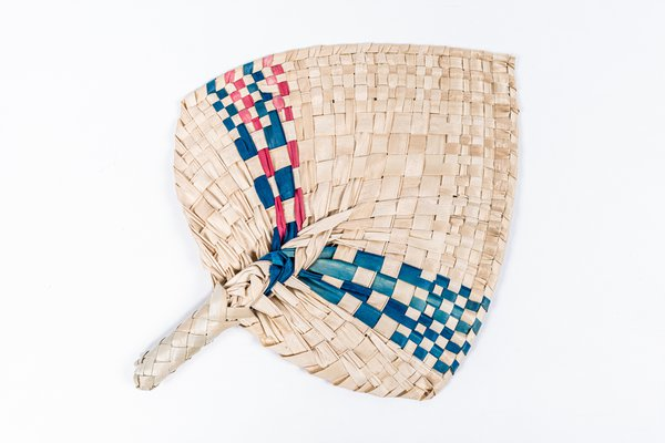 MIAB Pacific Box - Woven hand fan