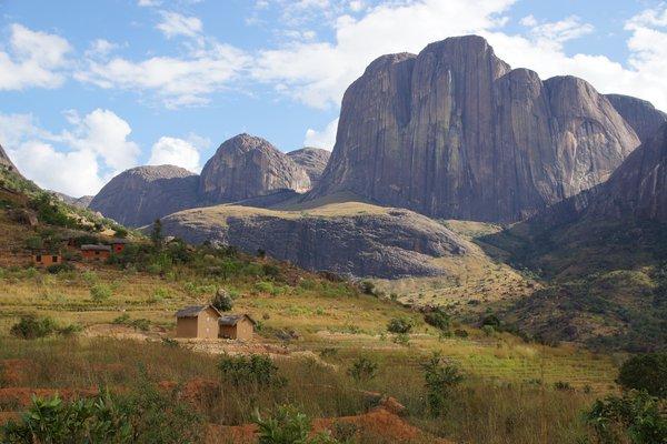 Madagascar 2012 - Tsaranoro Valley landscape