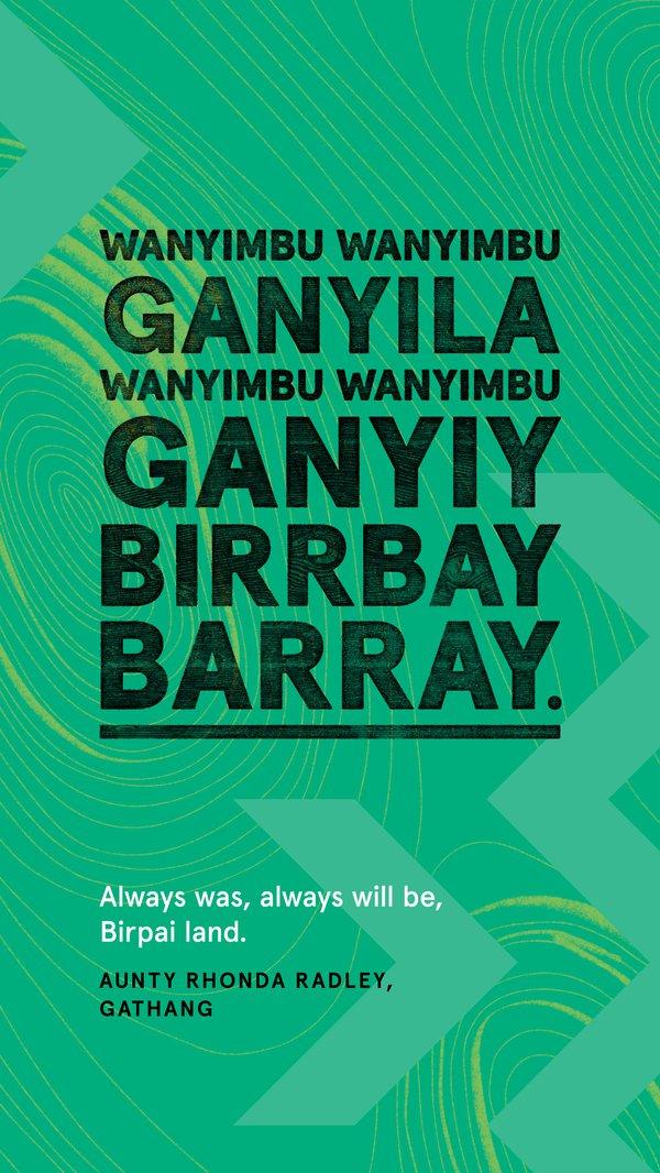 Always Was, Always Will Be Aboriginal Land, Gathang