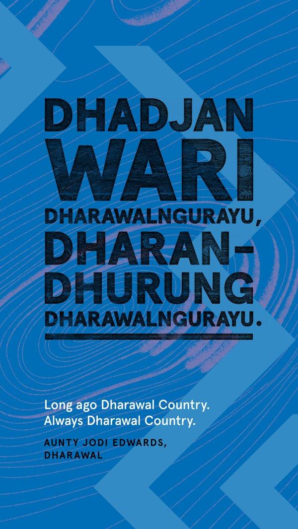 Always Was, Always Will Be Aboriginal Land, Dharawal