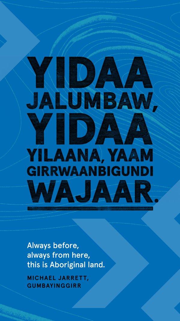 Always Was, Always Will Be Aboriginal Land, Gumbayinggirr