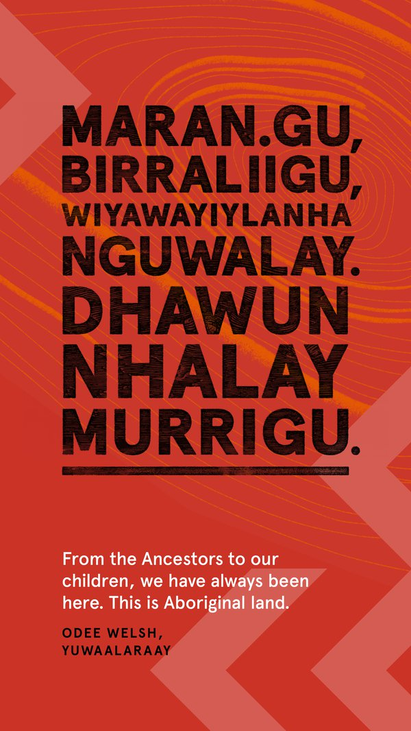 Always Was, Always Will Be Aboriginal Land, Yuwaalaraay