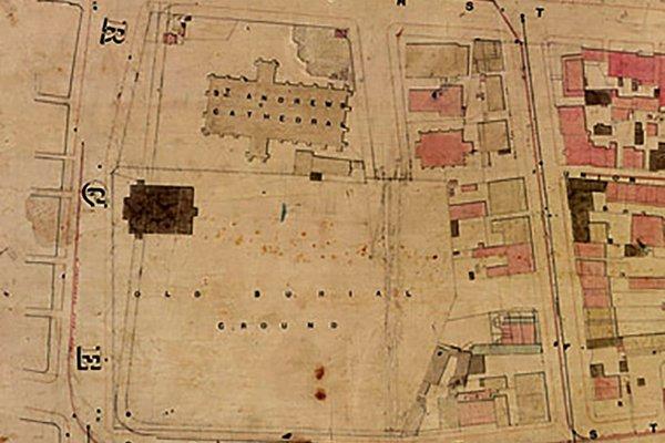Old Sydney burial ground