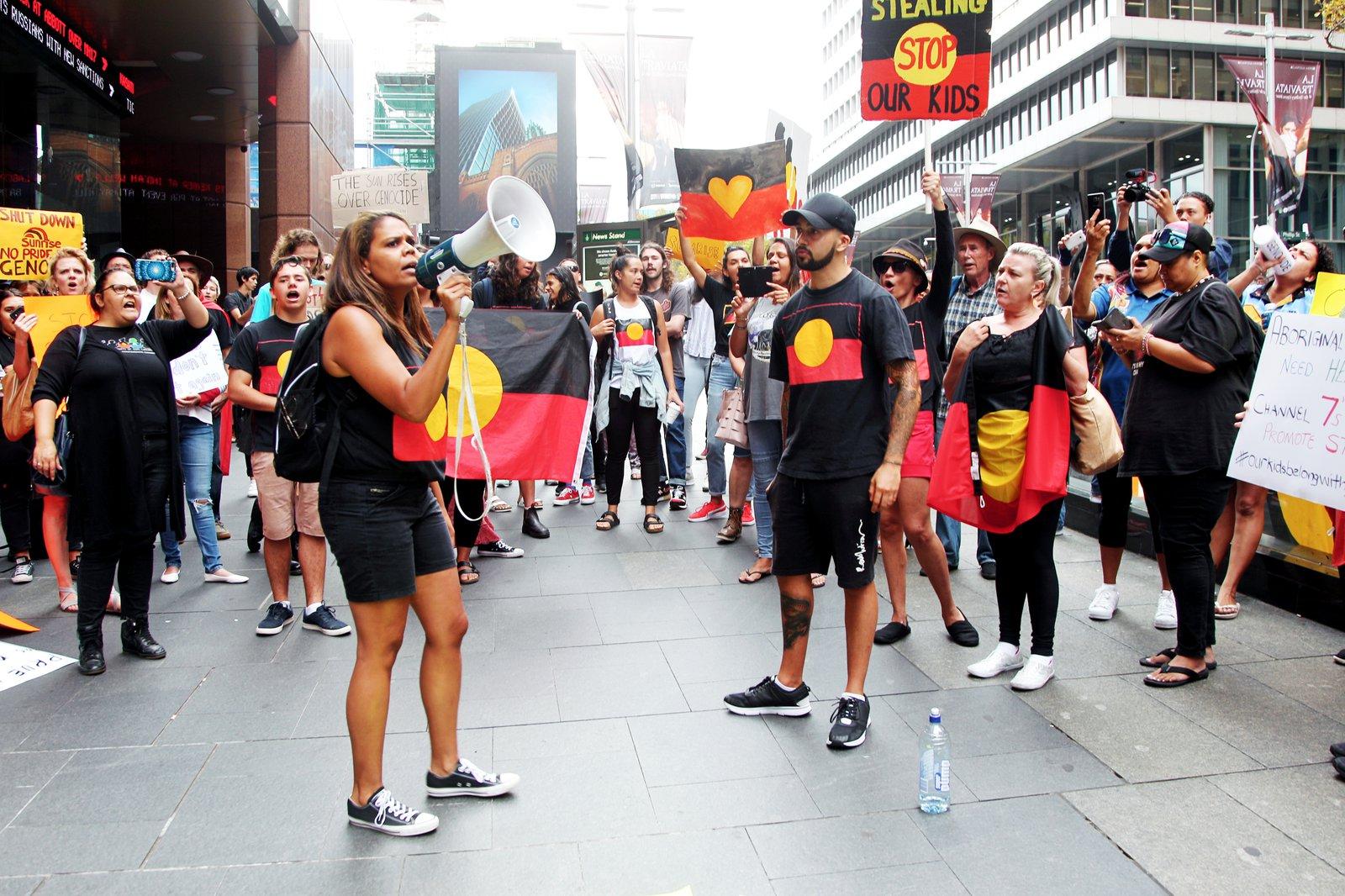 "Our Activists: Sunrise Protest (Image 1)"""