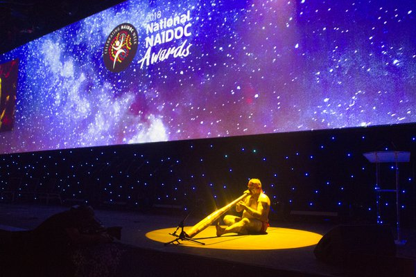 Our Celebrations: Russell Dawson at NAIDOC Awards
