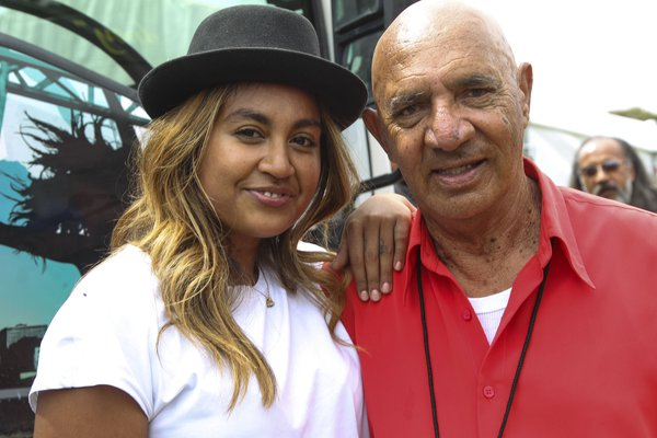 Our Stars: Jessica Mauboy and Vic Simms
