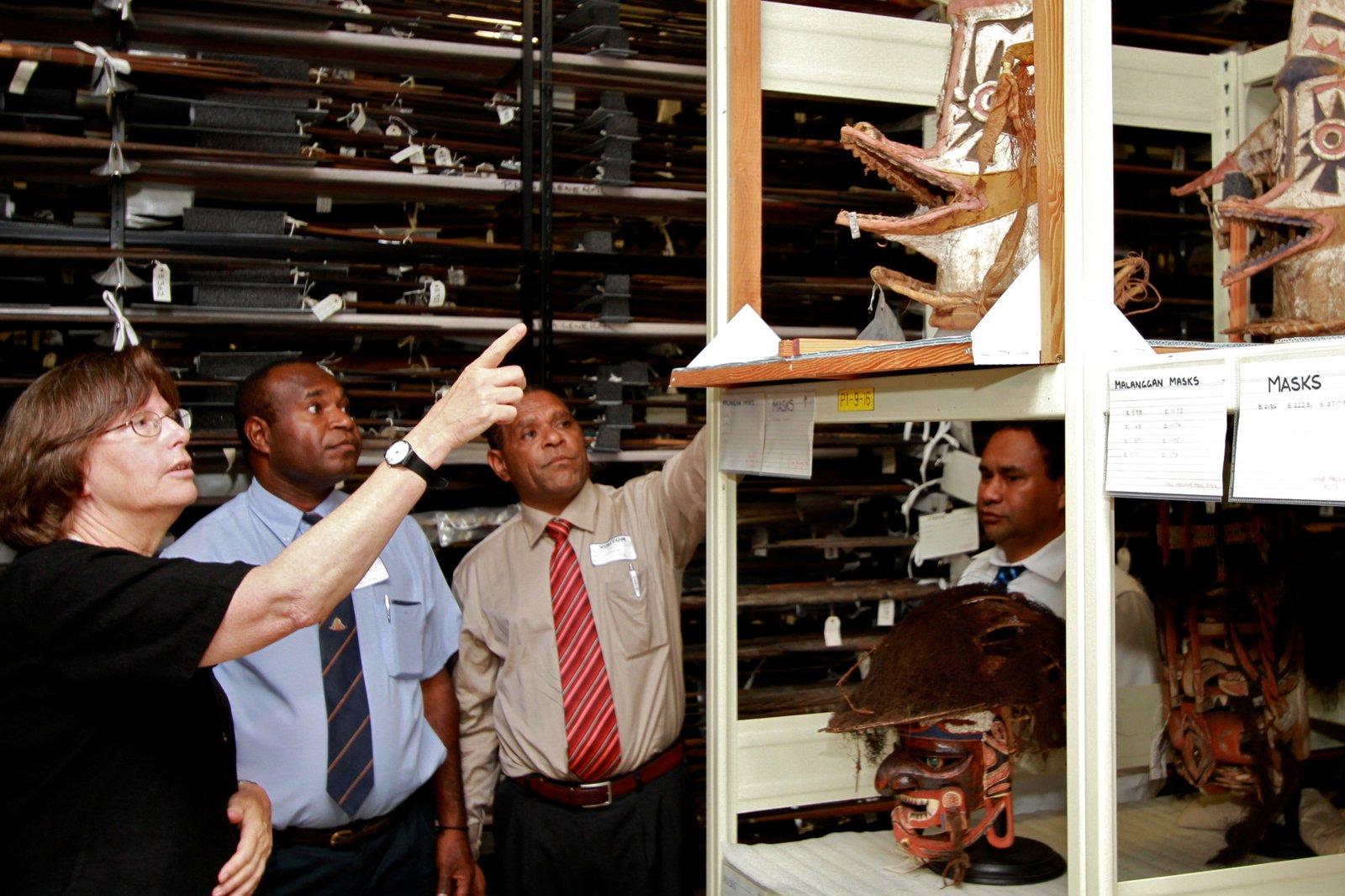 PNG National Museum Delegation