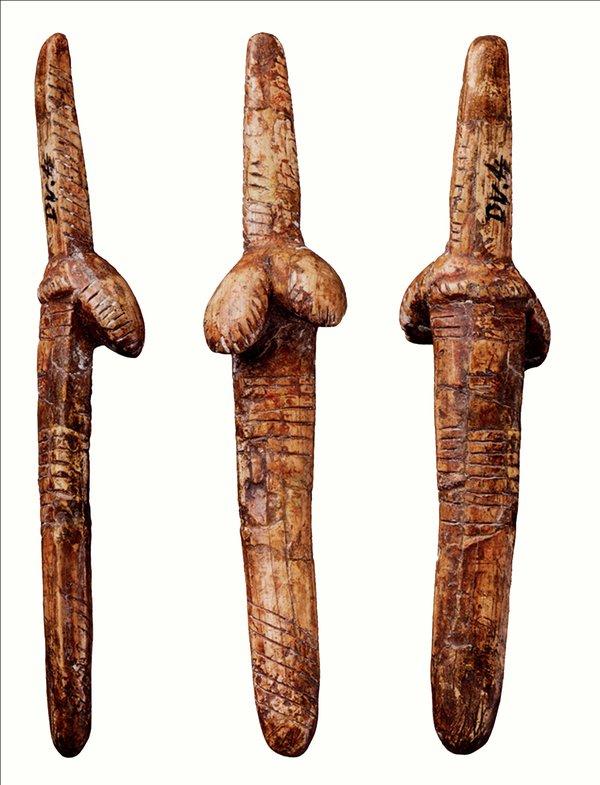 Palaeolithic Figure (cast): E74867