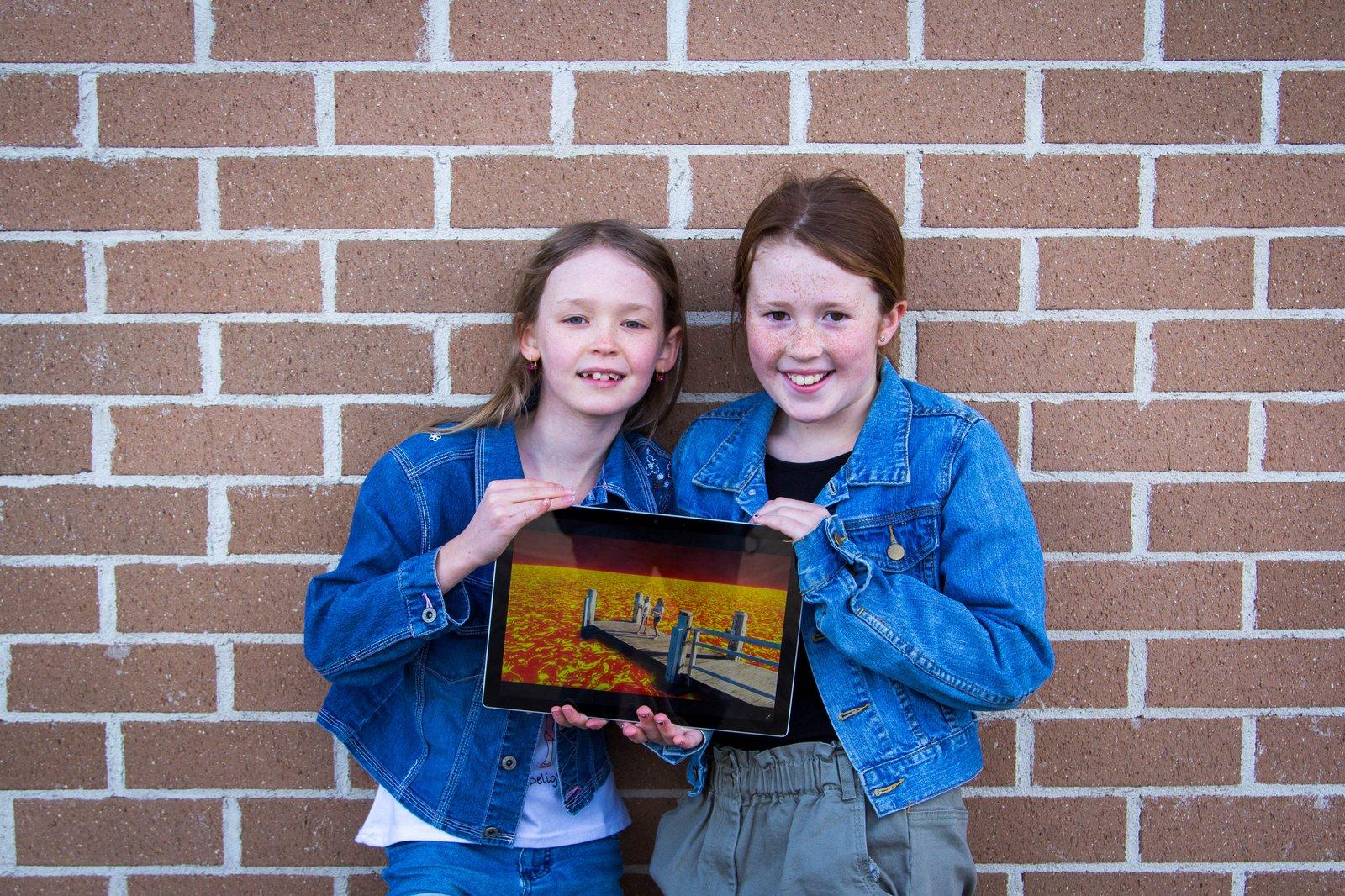 Scarlett O. and Scarlett . - Finalists, 2021 University of Sydney Sleek Geeks Science Eureka Prize — Primary