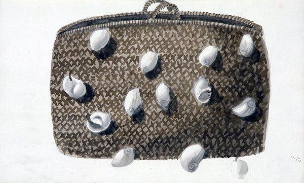 Sarah Stone Watercolour Basket