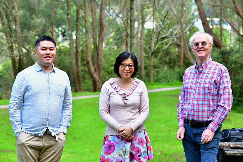 Professor Anita Ho-Baillie, Dr Martin Bucknall and Dr Lei Shi, University of Sydney and UNSW