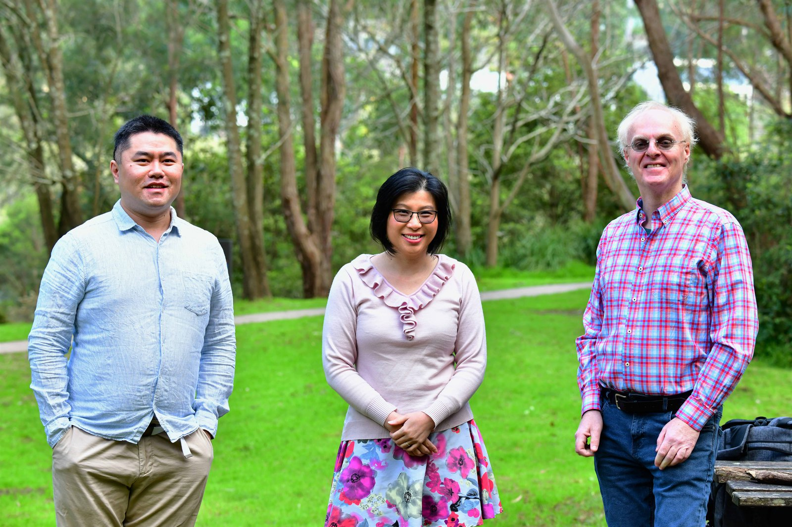 Professor Anita Ho-Baillie, Dr Martin Bucknall and Dr Lei Shi - Finalists, 2021 UNSW Eureka Prize for Scientific Research