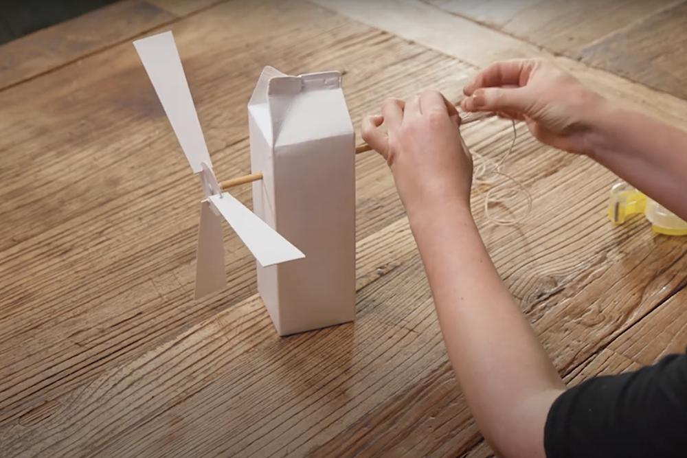 How to build a wind turbine