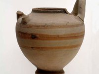Ancient Egyptian pottery vessel