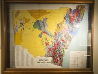 MA695 Geological relief map of NSW
