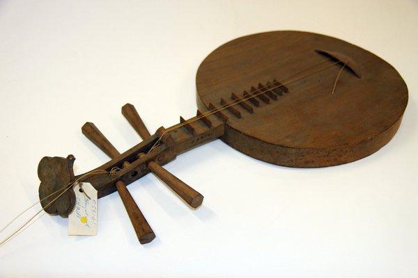Chinese Moon Guitar: E55191