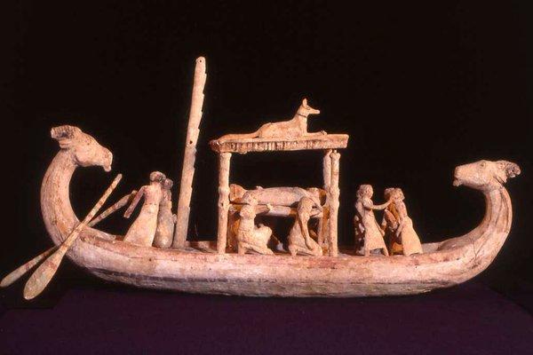 Funerary Boat Model