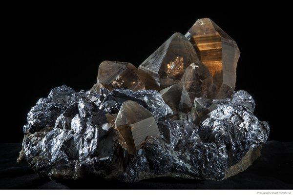 Smoky Quartz and Molybdenite