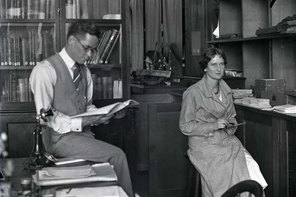 Fred McCarthy and Elsie Bramell c.1933