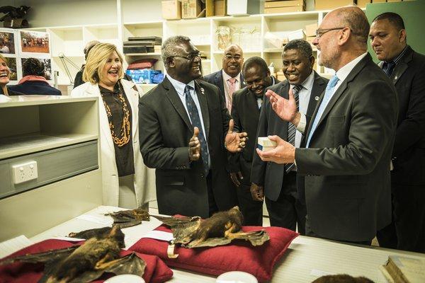 Solomon Islands Prime Minister Visit