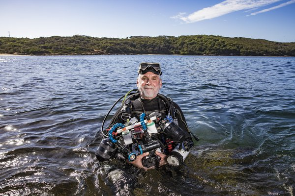 Andrew Trevor-Jones, citizen scientist for Australasian Fishes