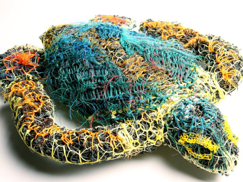 E095503 - Ghost Net Turtle