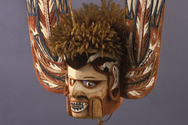 Malagan mask